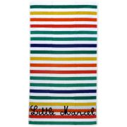 Beachwear Little Marcel Drap de Plage Salvi Blanc Multicolore